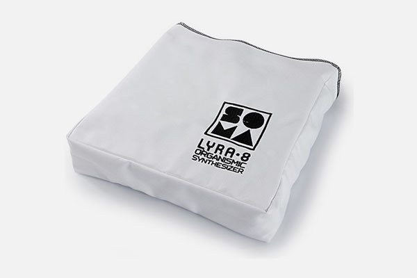 Soma Laboratory Cotton Dust Cover White
