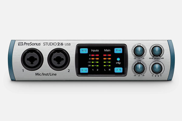 Studio 26 by PreSonus