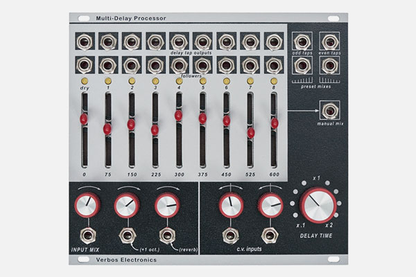 Multi-Delay Processor by Verbos Electronic