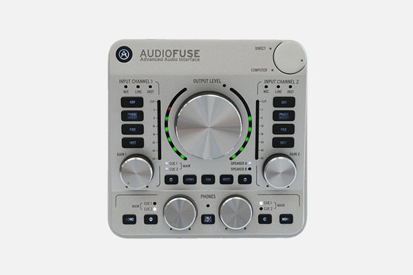 AudioFuse Classic Silver by Arturia