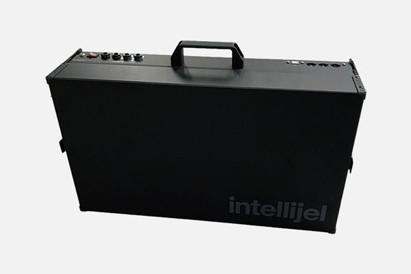 7U Case 104HP Black Stealth (104 TE / TPS80W) by Intellijel