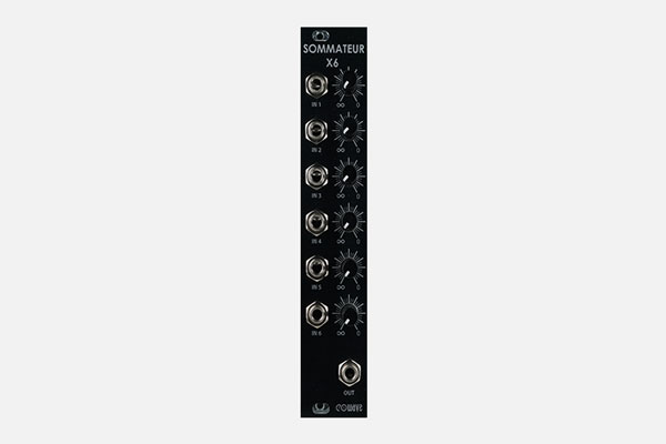 Sommateur x6 by Eowave
