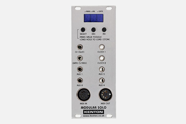 Modular Solo Grey MIDI-CV/Gate Interface by Kenton