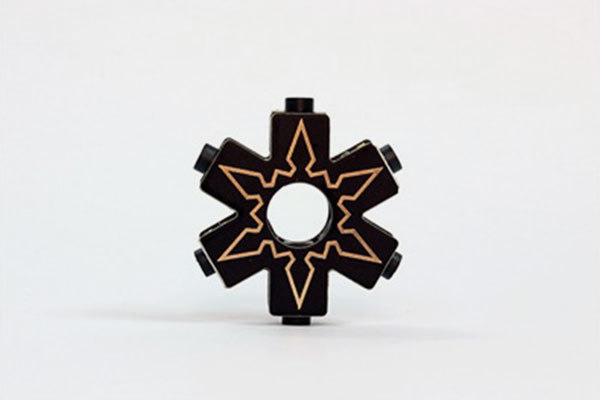 Ninja Star by Plankton Electronics