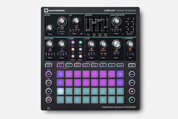 Circuit Mono Station by Novation