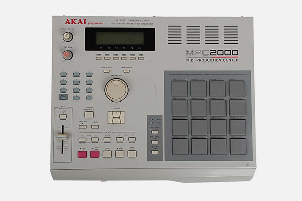 MPC2000 Separate Outputs & Usb Floppy Simulation by Akai