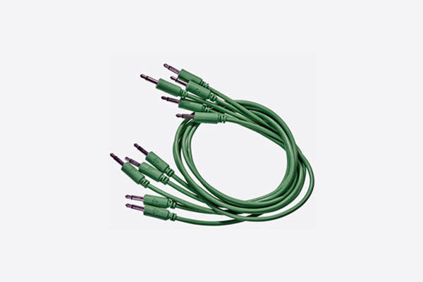 Patch Cable 5-pack 25cm Glow-in-the-dark by Black Market Modular