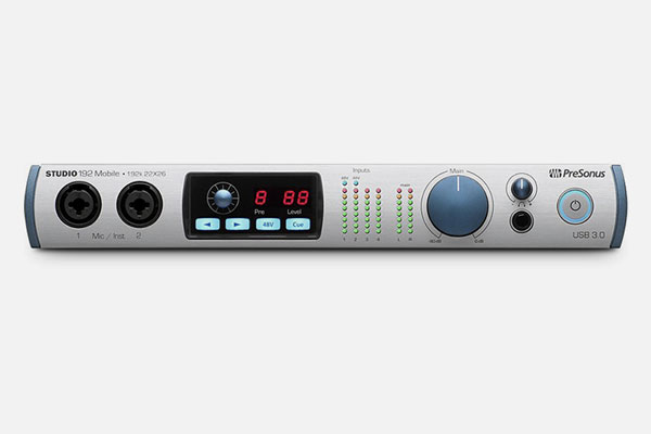 Studio 192 Mobile by PreSonus