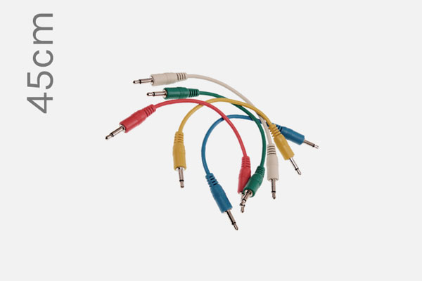Patch Cables 45cm (5-pack) by Analogue System