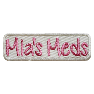 PATCHES My Meds Rectangle Patch