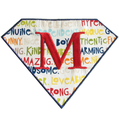PATCHES Superhero Diamond Patch