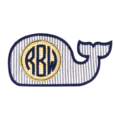 PATCHES Navy Whale Patch