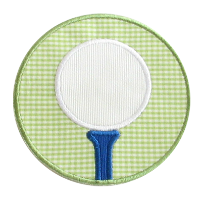 PATCHES Golf Ball Patch