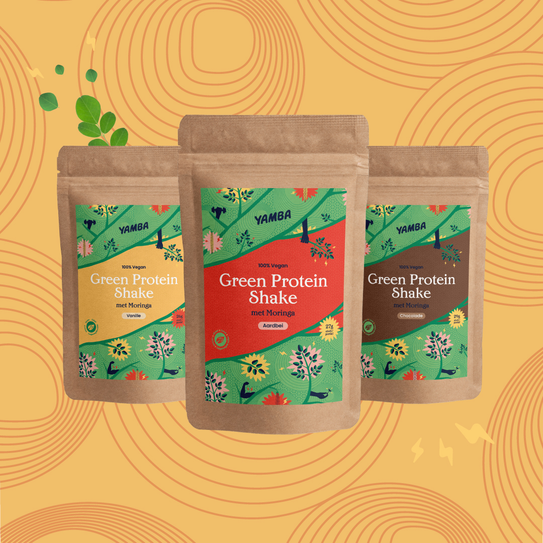 Proefpakket Green Protein Shakes  packaging