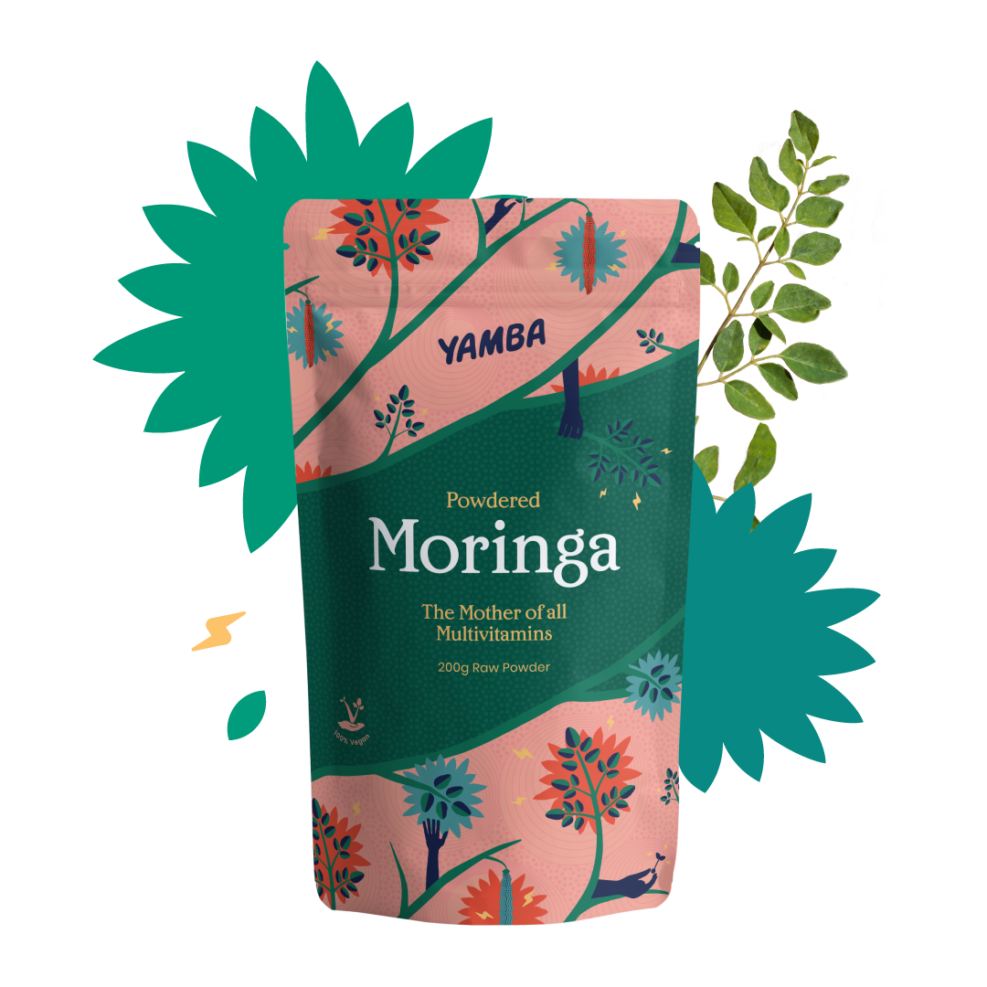 Moringa Powder - 200g packaging