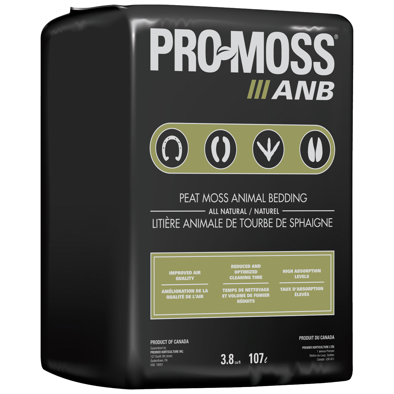 PEAT MOSS ANIMAL BEDDING