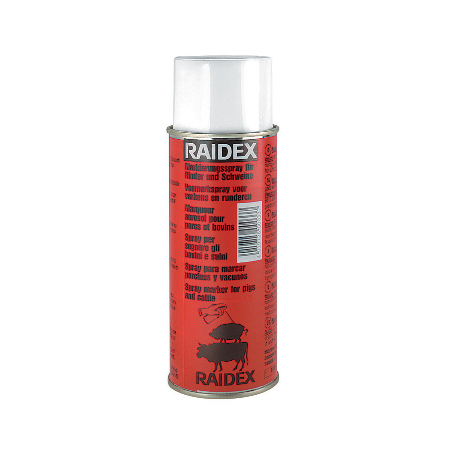 RAIDEX MARKING SPRAY RED