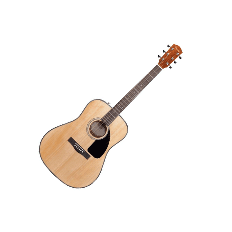 Guitare Fender DG8S (Ensemble complet) v2 - Naturel