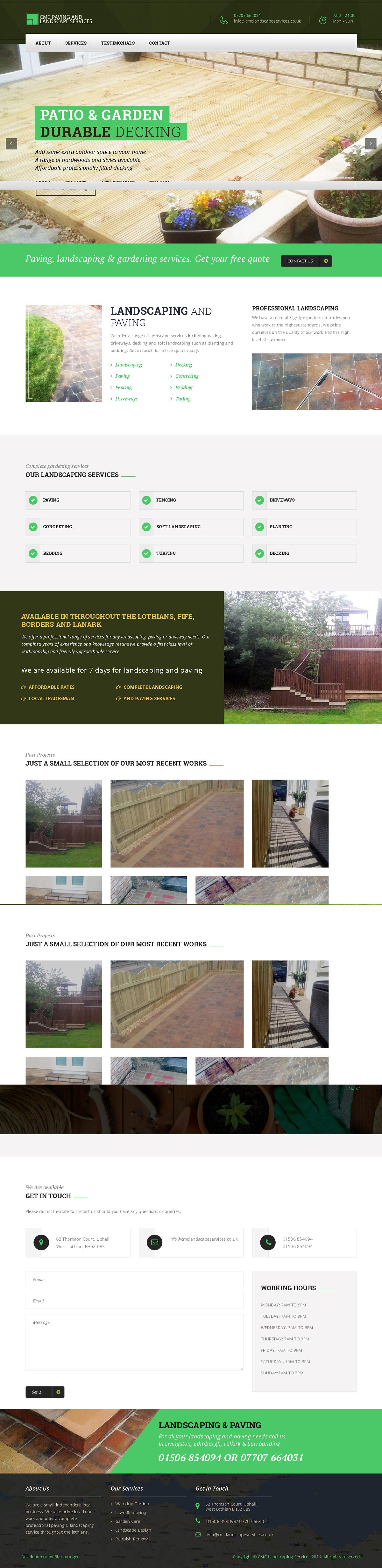 CMC Paving & Landscaping