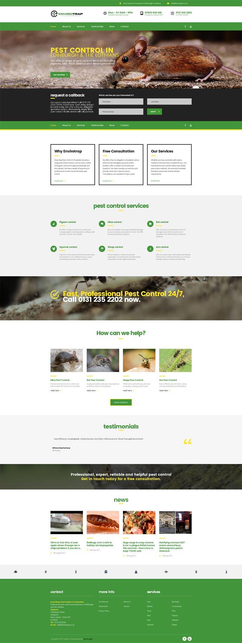 Envirotrap Pest Control
