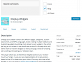 Display Widgets Plugin Includes Malicious Code to Publish Spam on WP Sites