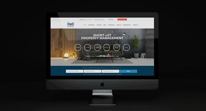 Our latest website for BnBbuddy