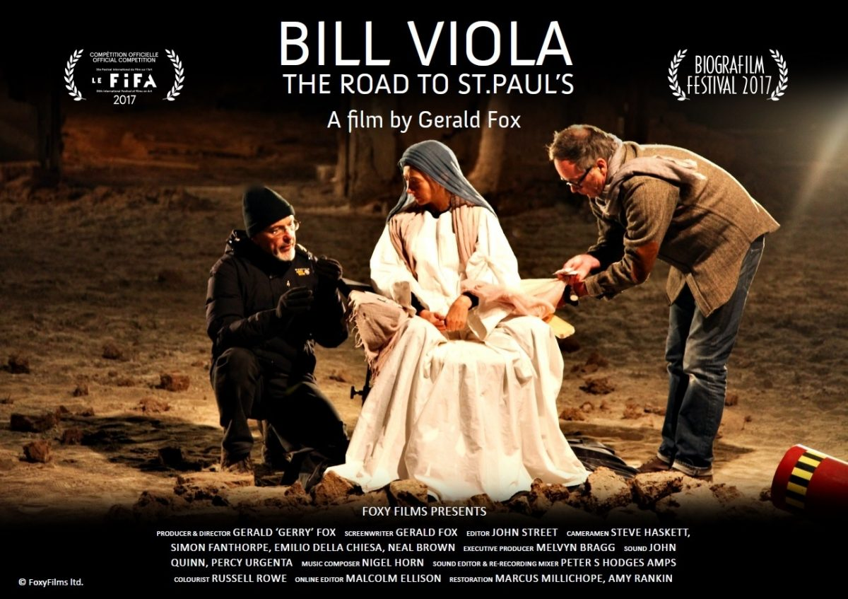 Bill Viola The Road To St Pauls Poster