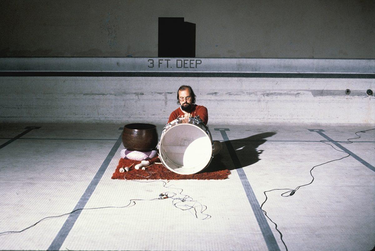 Bill Viola The Talking Drum For Herman Heins 1979 Photo Kira Perov