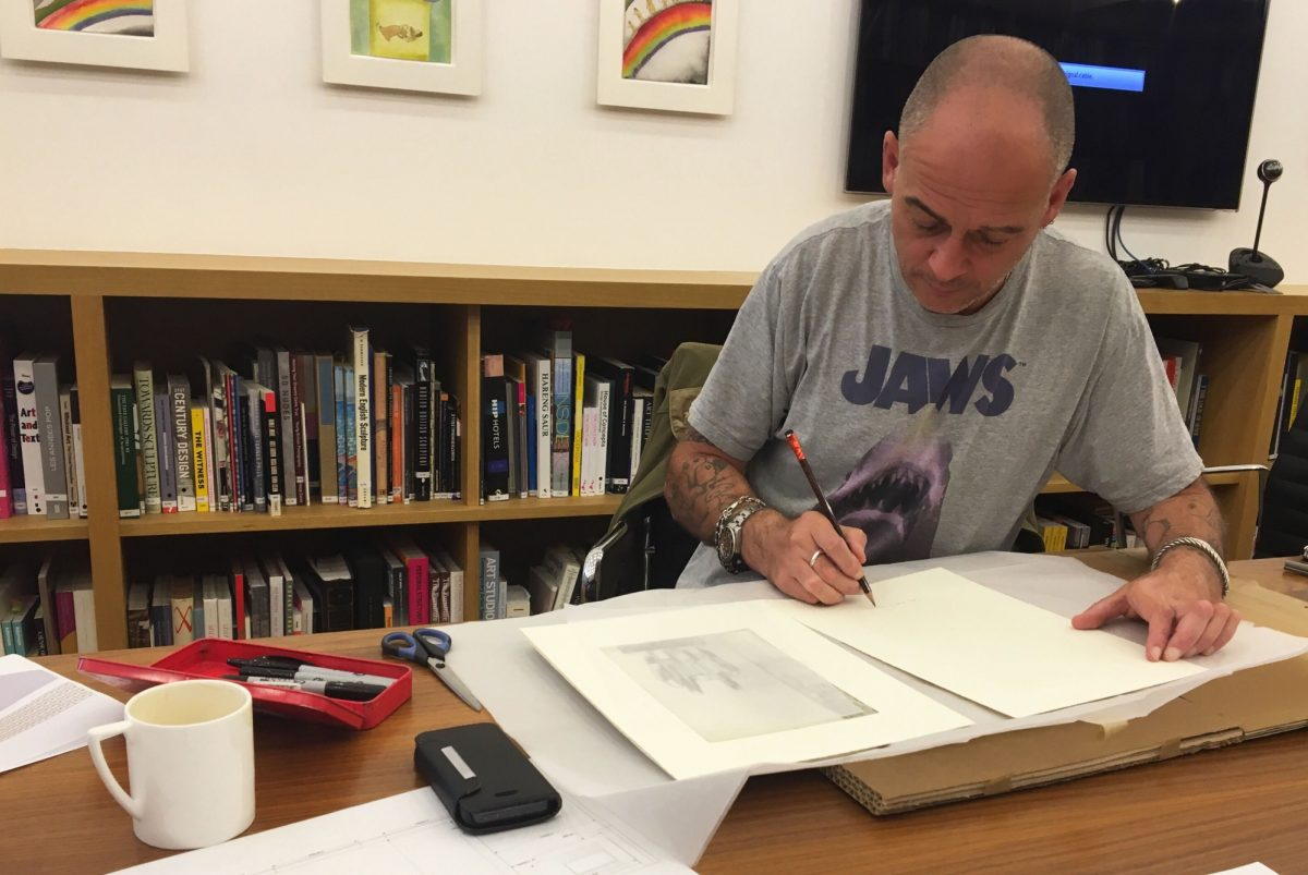 Jake Dinos Chapman Prints Courtesy The Artist And Blain Southern