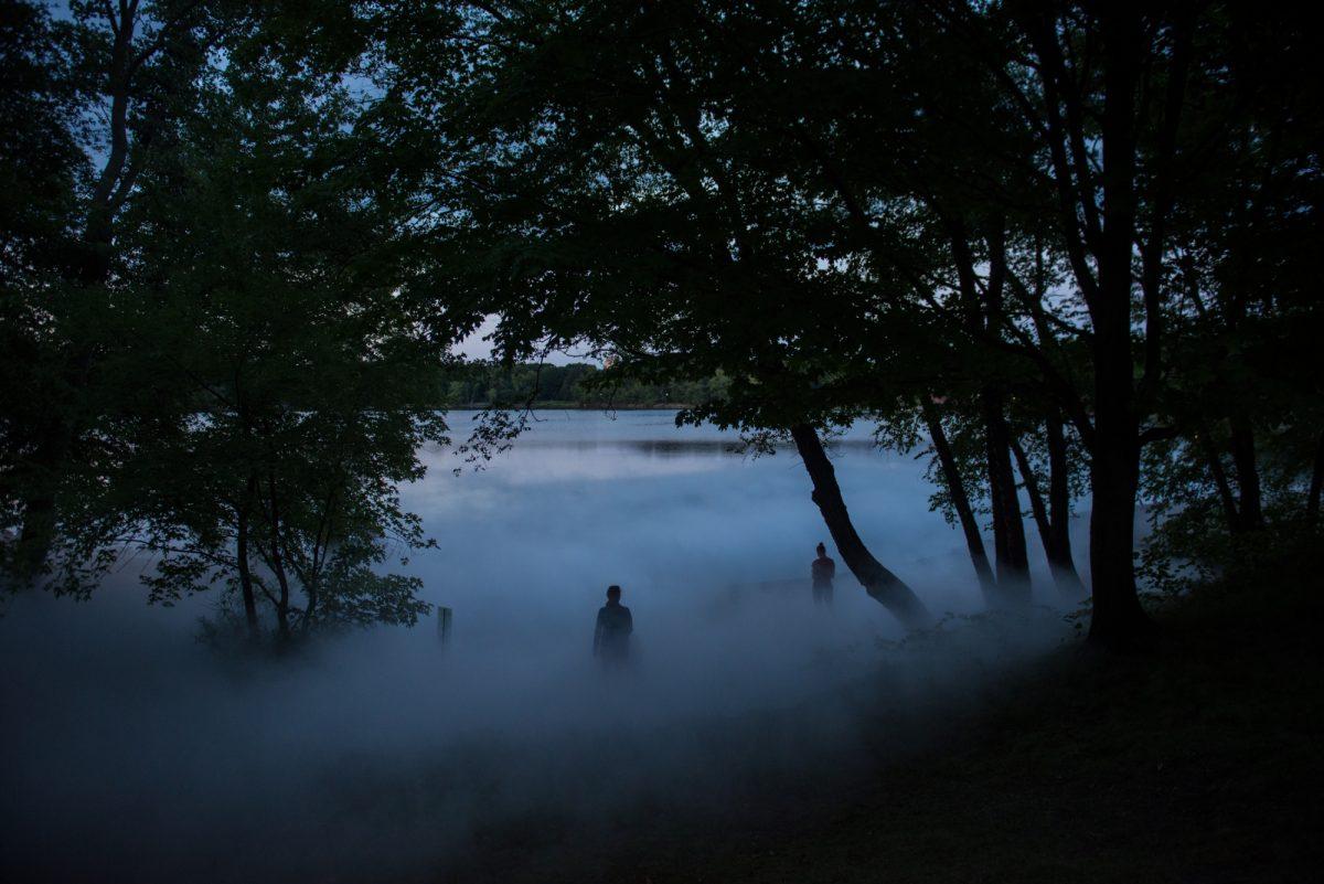 Fujiko Nakaya, Fog X Flo, Jamaica Pond, Boston
