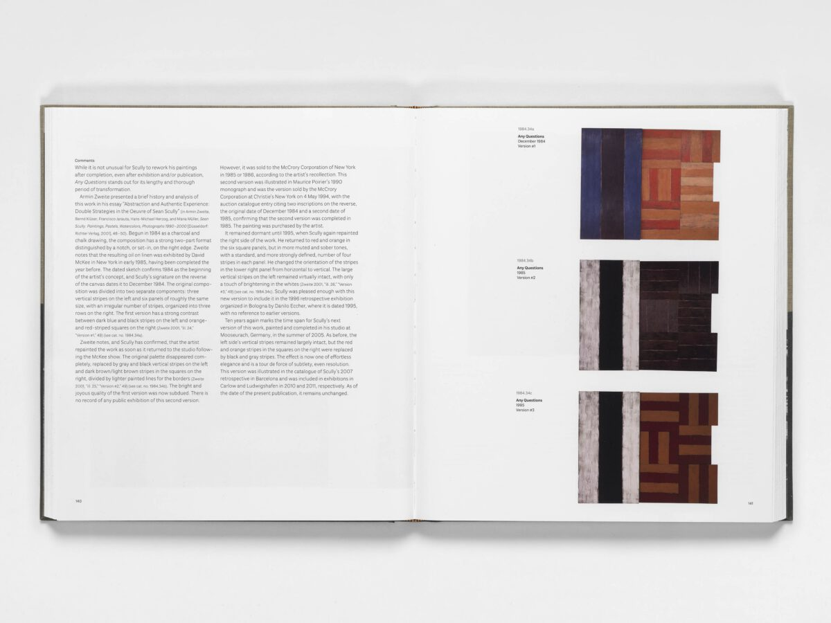 Sean Scully Catalogue Raisonné Of Paintings Blain Southern 4