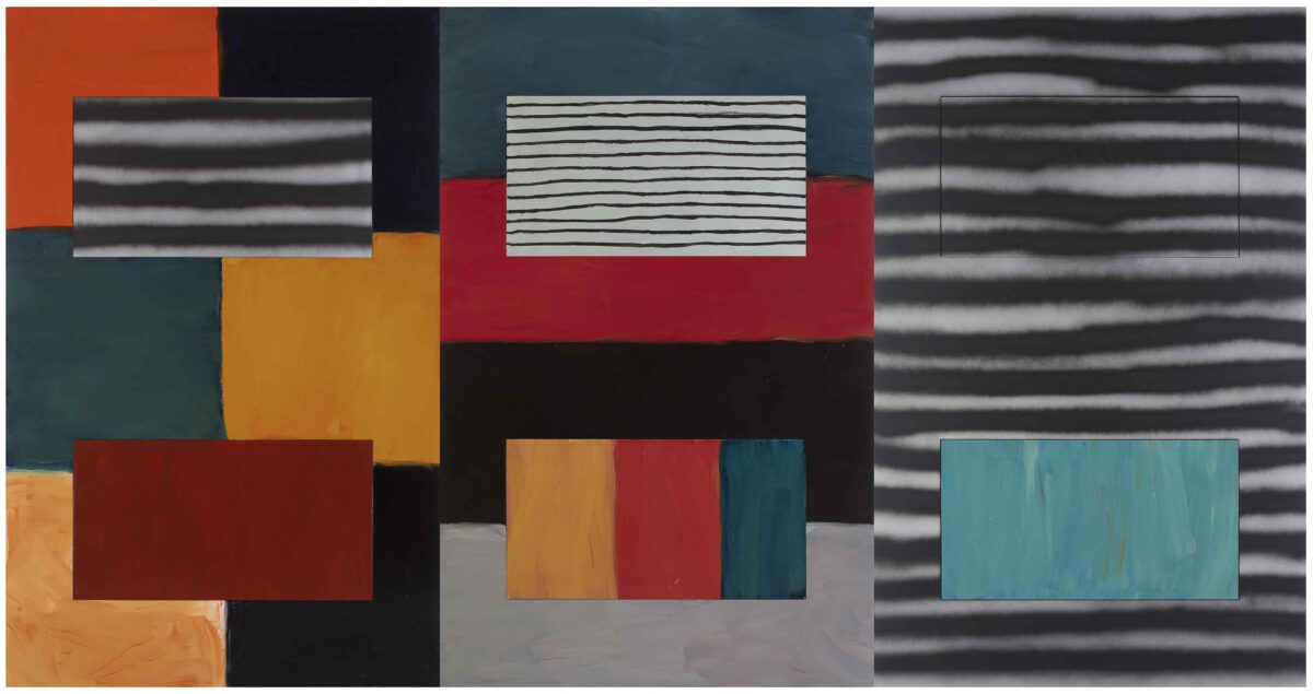 Sean Scully What Makes Us Too 2017 © Sean Scully Courtesy Of The Artist And Blain Southern