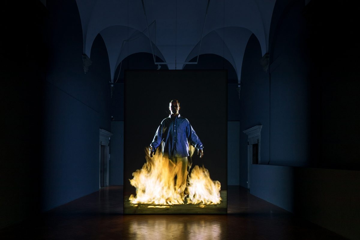 Bill Viola, The Crossing, 1996, © 2017 Bill Viola Studio