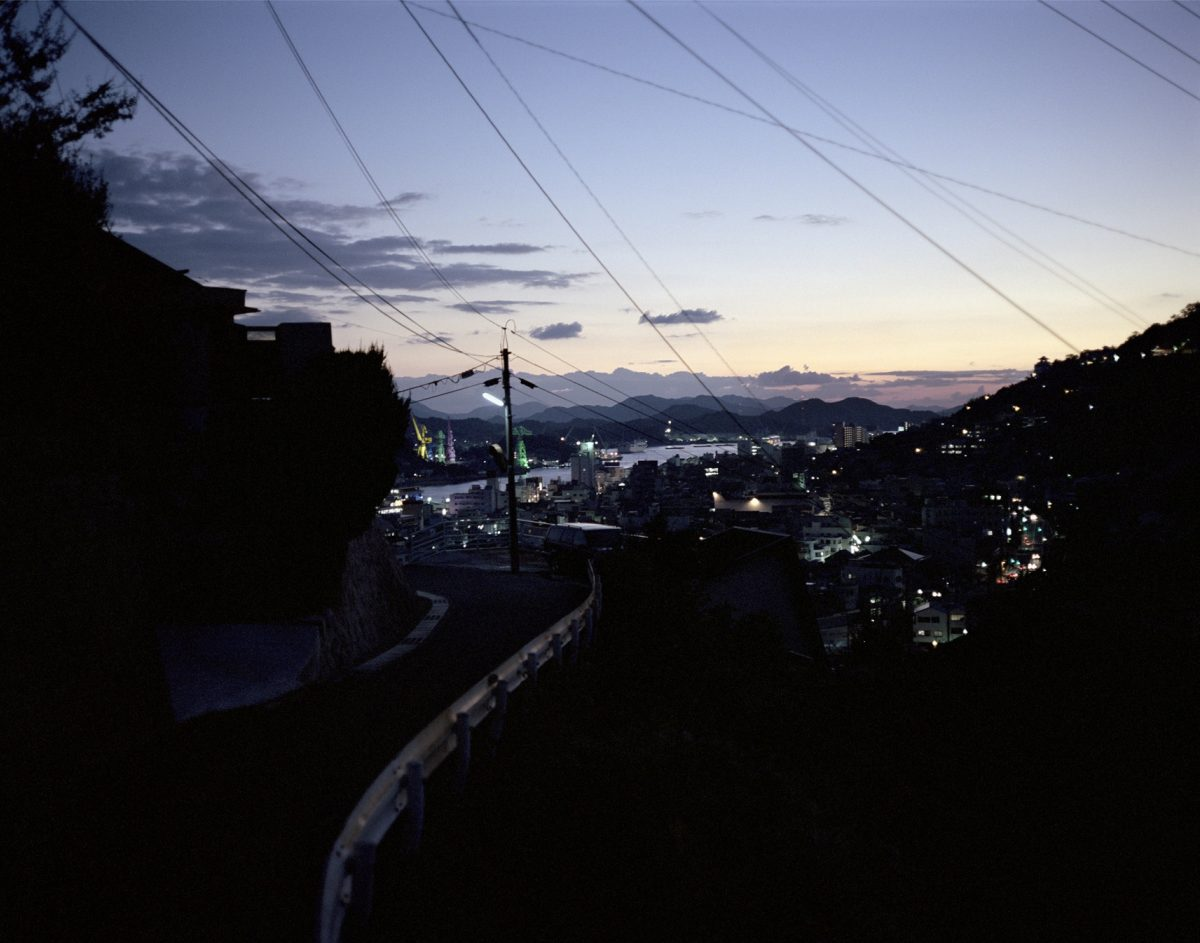 Wim Wenders Onomichi At Dusk 2005 Courtesy The Artist And Blain Southern © Wim Wenders