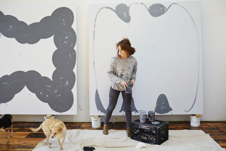 Amy Feldman In Her Studio Photo Winnie Au