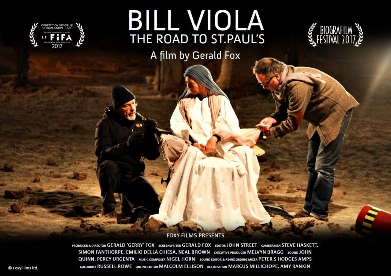 BILL VIOLA: THE ROAD TO ST PAUL'S a new feature length documentary premieres in London