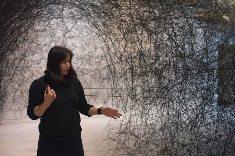 Chiharu Shiota Portrait Blain Southern