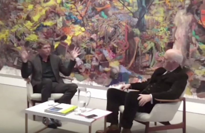 Jonas Burgert in Conversation with Charles Saumarez Smith at Blain Southern London
