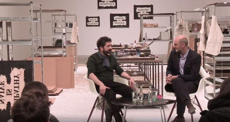 Nasan Tur in-conversation with Christian Rattemeyer (German with English subtitles)