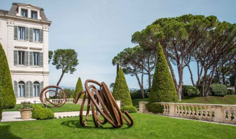 Bernar Venet at the Oetker Collection
