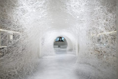 Chiharu Shiota at Yorkshire Sculpture Park