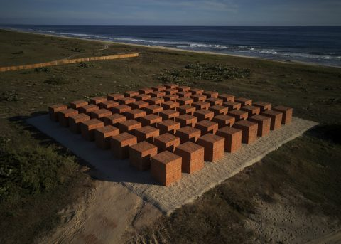 Bosco Sodi unveils new monumental work, 'Atlantes', in Mexico