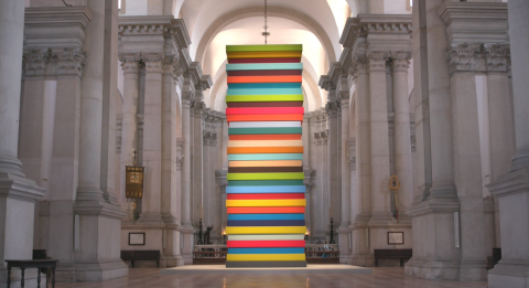 Sean Scully discusses 'HUMAN' at the Church of San Giorgio di Maggiore in Venice