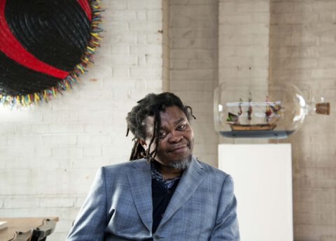 Yinka Shonibare MBE at Hereford Cathedral