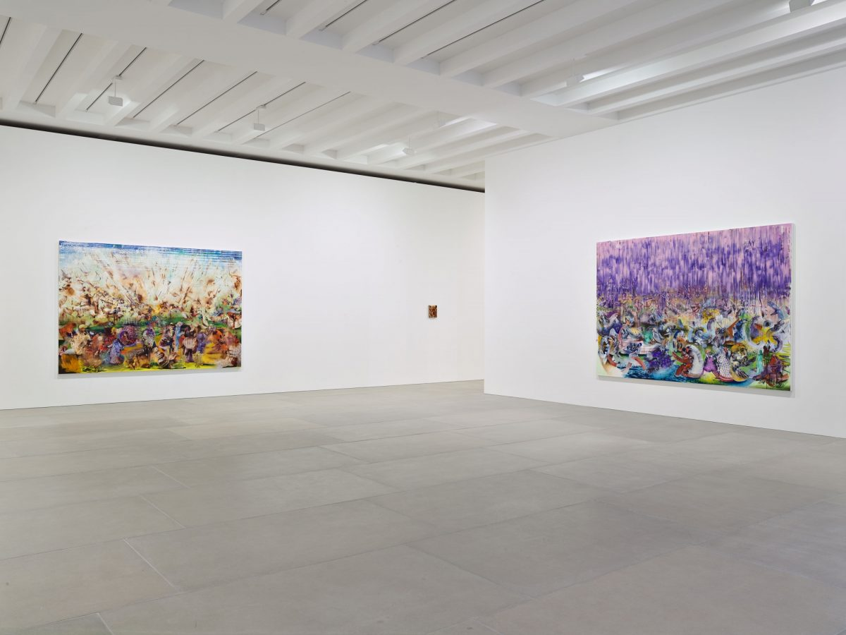 Ali Banisadr At Once 2015 Installation View Courtesy The Artist And Blain Southern Photo Peter Mallet 0