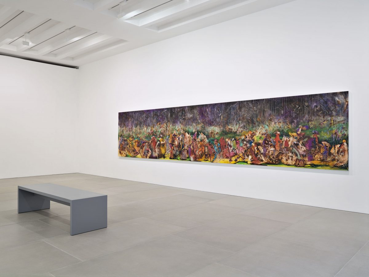 Ali Banisadr At Once 2015 Installation View Courtesy The Artist And Blain Southern Photo Peter Mallet 1
