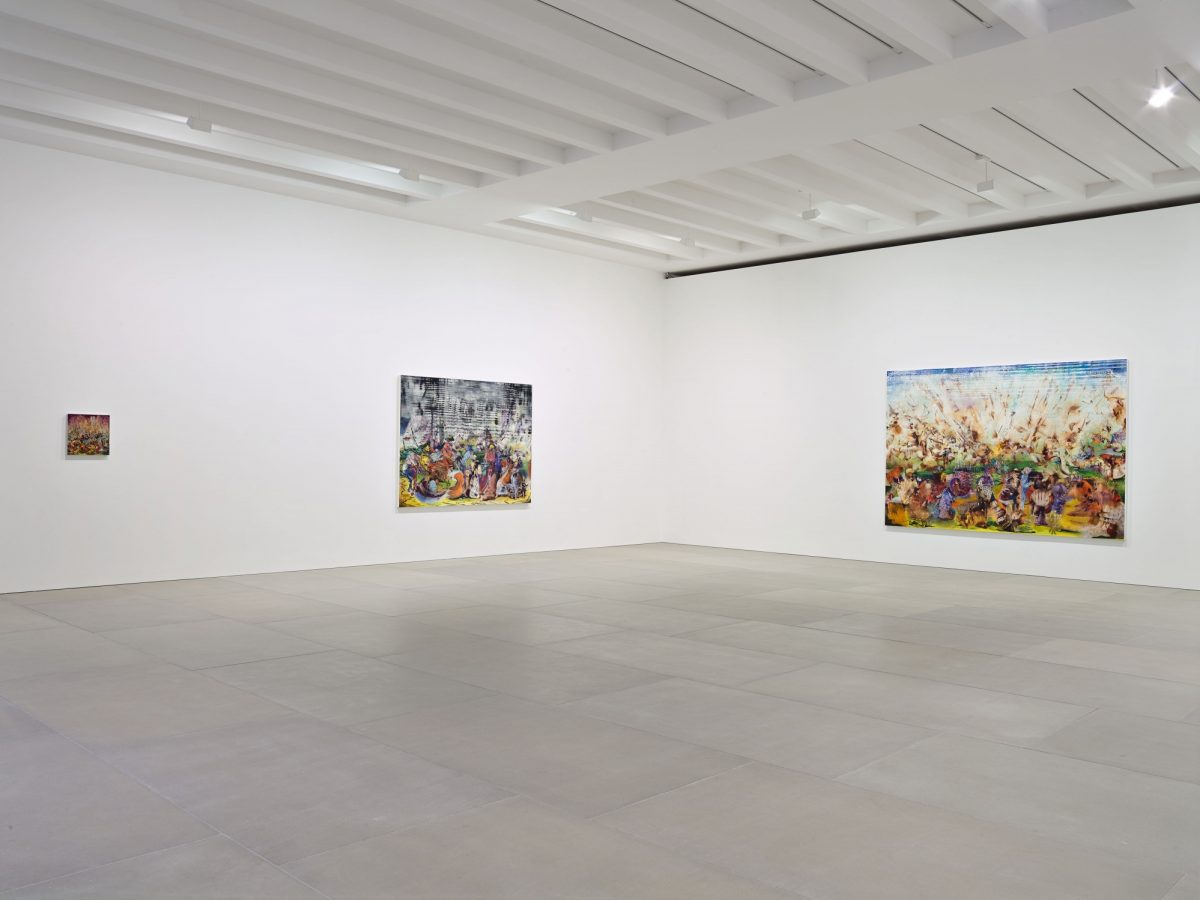 Ali Banisadr At Once 2015 Installation View Courtesy The Artist And Blain Southern Photo Peter Mallet 3
