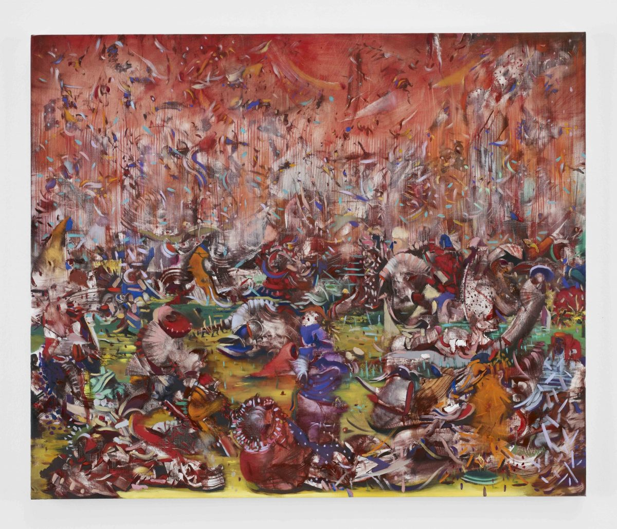 Ali Banisadr At Once 2015 Installation View Courtesy The Artist And Blain Southern Photo Peter Mallet 4