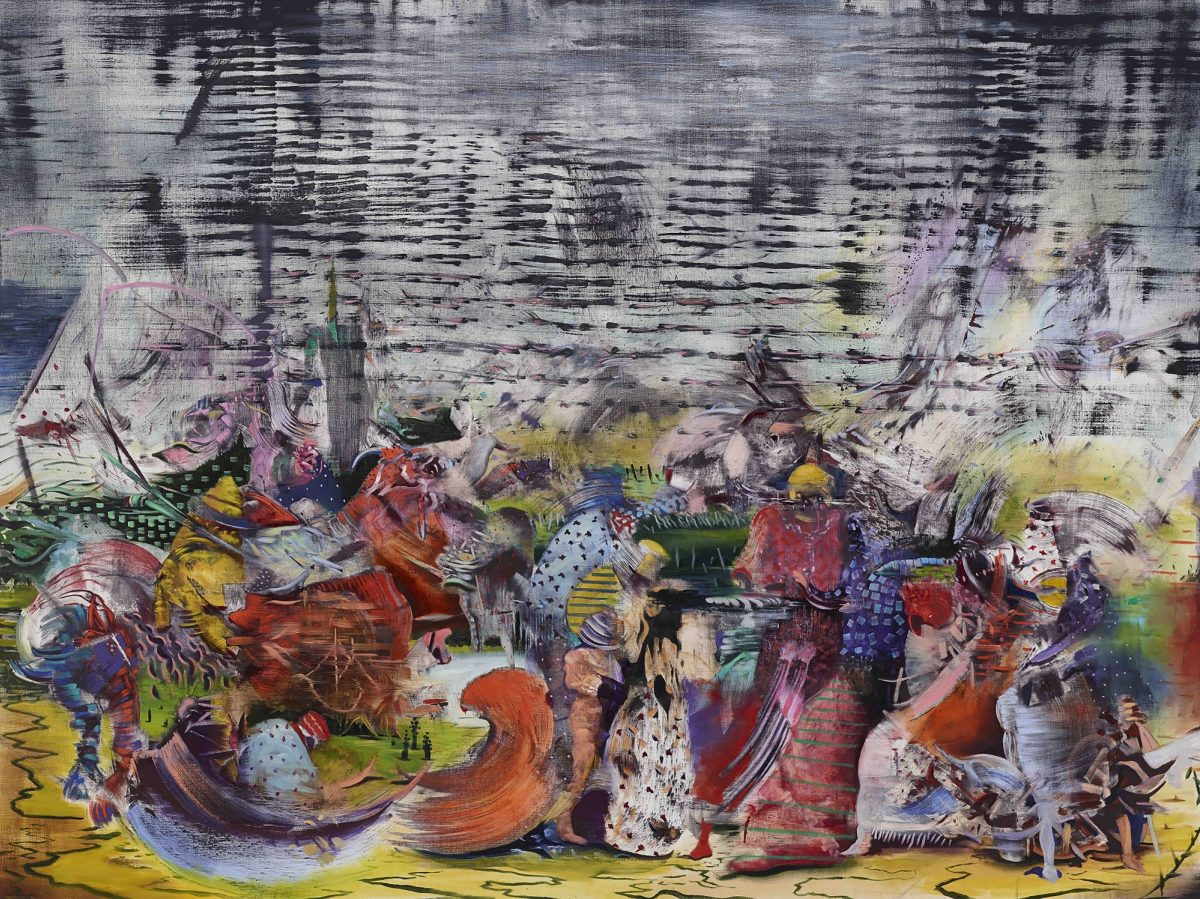 Ali Banisadr At Once 2015 Installation View Courtesy The Artist And Blain Southern Photo Peter Mallet 5