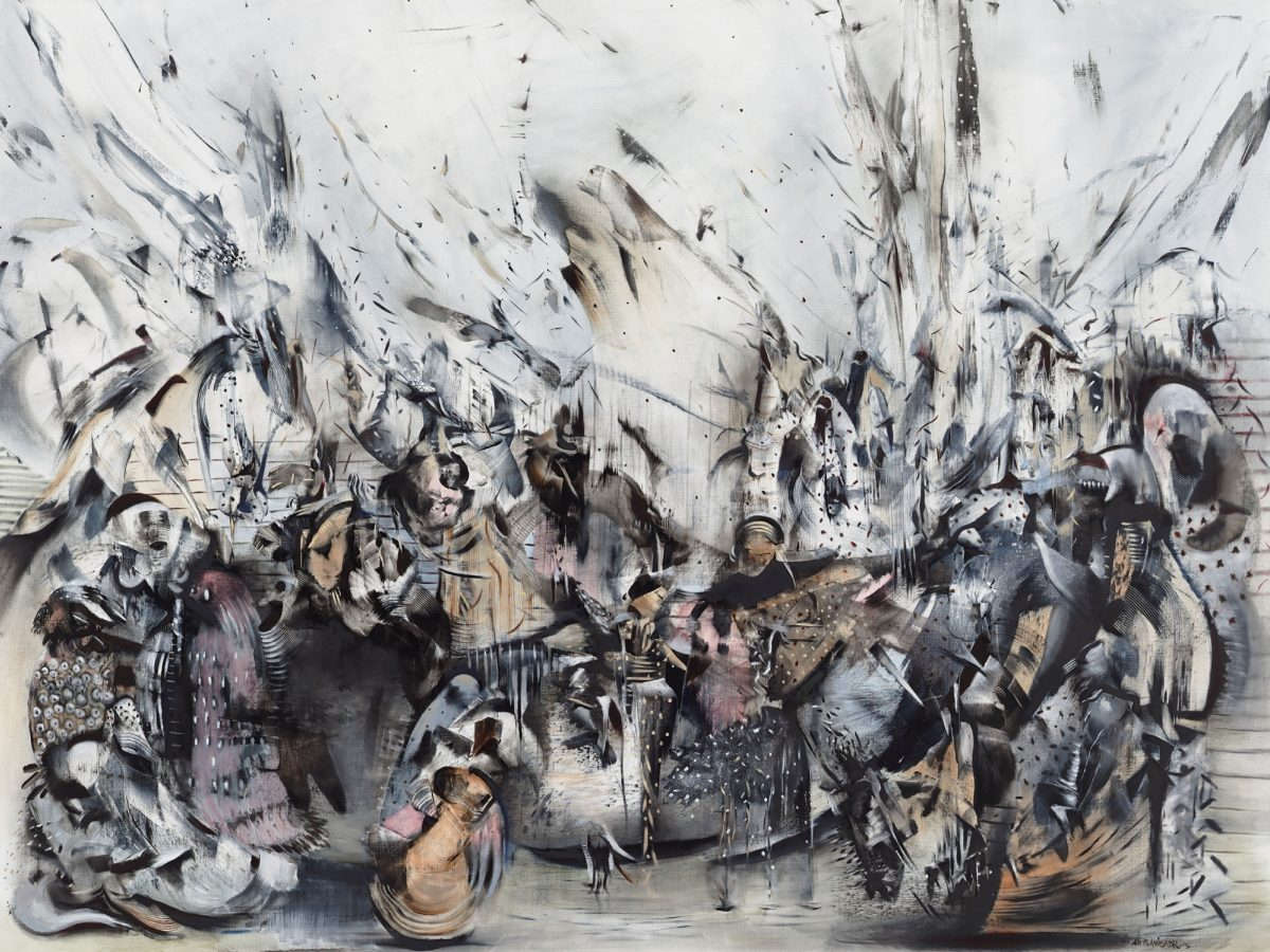 Ali Banisadr At Once 2015 Installation View Courtesy The Artist And Blain Southern Photo Peter Mallet 7